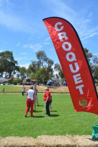 Croquet 'Demo' at Prospect Fair
