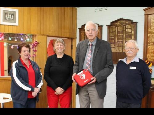 Presentation of Defibrillator 17 November 2017 0