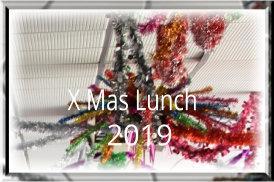 X Mas Lunch 2019