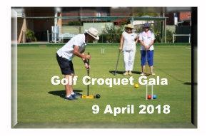 Golf Croquet Gala 9/4/2018