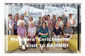 SAHMRI Visit