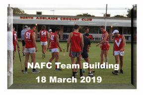 North Adelaide Football Club - Team Bonding Exercise